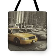 On 5th Avenue Tote Bag