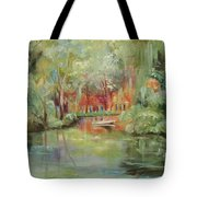 On A Bayou Tote Bag