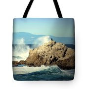 On A Clear Day Cropped Tote Bag