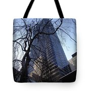 On A Clear Day...moma Courtyard Ny City Tote Bag