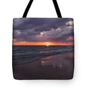 On A Cloudy Night Tote Bag