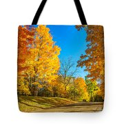 On A Country Road 6 Tote Bag