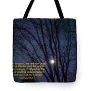 On A Fall Night Tote Bag