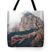 On A Misty Day Tote Bag