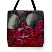 On A Rainy Day Its Fine To Be Inside Tote Bag