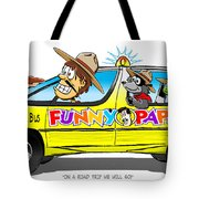 On A Road Trip We Will Go Tote Bag