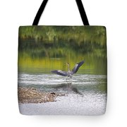 On A Stroll In The River Tote Bag