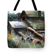 On Borrowed Time Tote Bag