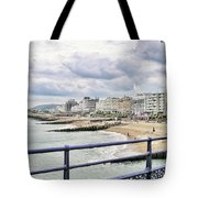 On Brighton's Palace Pier Tote Bag