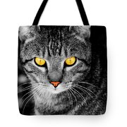On Cat Watch Tote Bag