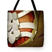On Daddy's Lap Tote Bag