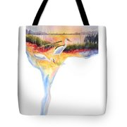 On Fire Tote Bag by Kathy Braud