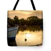 On Golden River Tote Bag