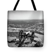 On Guard At Point Park Lookout Mountain In Tennessee Tote Bag