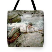 On His Holidays Tote Bag