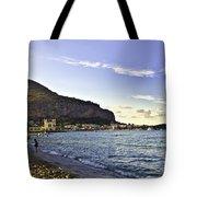 On Mondello Beach Tote Bag