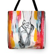 On Pointe Tote Bag