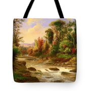 On St Annes East Canada Tote Bag