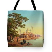 On The Banks Of The Nile Tote Bag