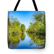 On The Bayou 3 Tote Bag
