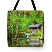 On The Bayou Tote Bag