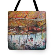 On The Beach 1 Tote Bag
