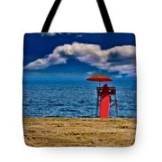 On The Beach At Coney Island Tote Bag