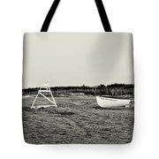 On The Beach - Avalon New Jersey In Sepia Tote Bag