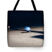 On The Beach Tote Bag by Dave Bowman