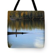 On The Bend Of The River Tote Bag