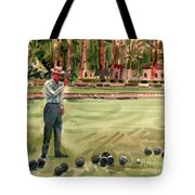 On The Bowling Green Tote Bag