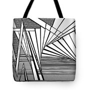 On The Brink Tote Bag