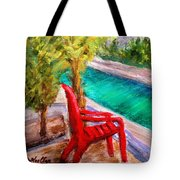 On The Canal Tote Bag