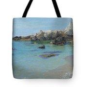 On The Capri Coast Tote Bag by Paul von Spaun