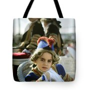 On The Carriage Tote Bag