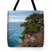 On The Cliff - Horizontal Tote Bag