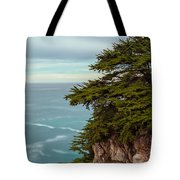 On The Cliff - Vertical Tote Bag