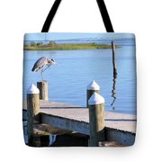 On The Dock Of The Bay Tote Bag