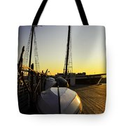 On The Dock Of The Sullivan Tote Bag