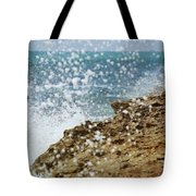 On The Edge Blowing Rocks Preserve Jupiter Island Florida Tote Bag