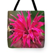 On The Edge Of Petals Tote Bag