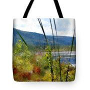 On The Edge Of Reality Tote Bag
