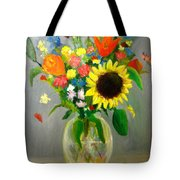 On The Eve Of Autumn Tote Bag