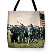 On The Field Of Battle Tote Bag
