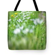On The Garden Path Tote Bag