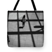 On The Grid Tote Bag by Eric Lake