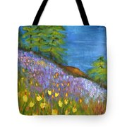 On The Hillside Tote Bag