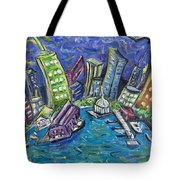 On The Hudson Tote Bag