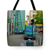 On The Ladder Tote Bag