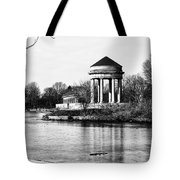On The Lake At Fdr Park Tote Bag